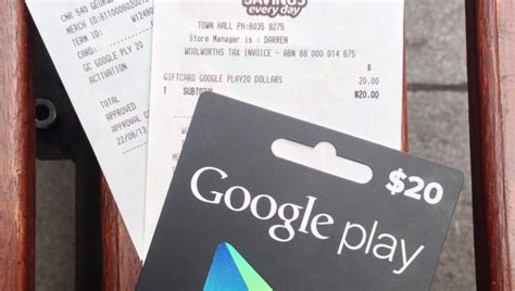 What Stores Sell Google Play Gift Cards - google play gift cards on sale now at woolworths stores ausdroid