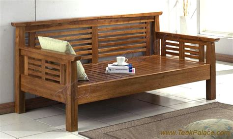 Dan Model Sofa Kayu sofa minimalis kayu jati murah teras santai luxi harga