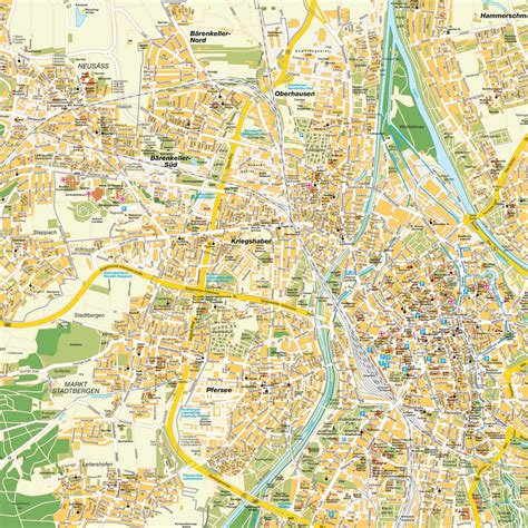 map augsburg germany map augsburg germany maps and directions at map