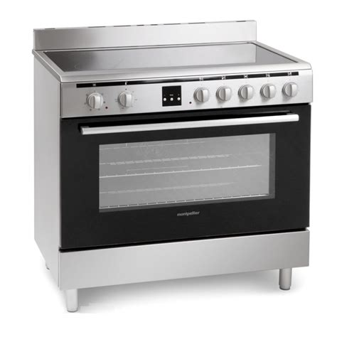 Electric Cooker mr90cemx montpellier range cooker electric 90cm in