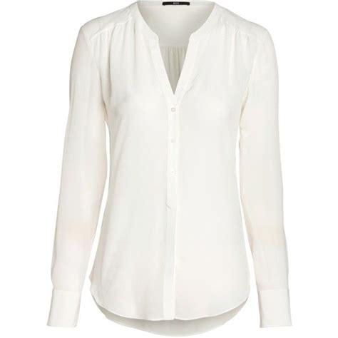 rosalia silk blouse white 1 020 sek liked on