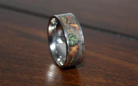 size of wedding ringsoak mens band cheap camo rings