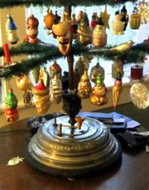 star bell revolving musical xmas tree holder antique german musical tree stand box automaton jc eckardt yqz antique