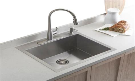 Best undermount kitchen sinks, small double bowl vanity top top mount single bowl kitchen sinks