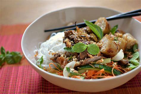 recette cuisine chignon bo bun vietnamien au boeuf la vraie recette facile et