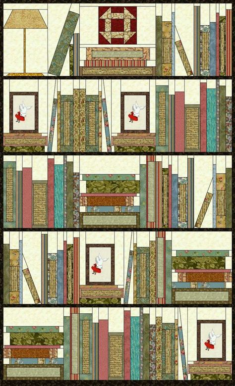 quilt pattern bookshelf 127 best images about bookshelf quilts on pinterest book