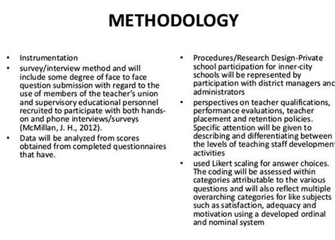methodology chapter dissertation exles dissertation data collection literature review