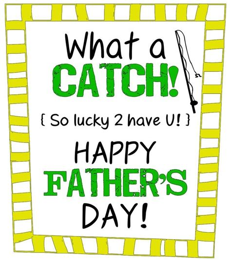 lil luna printable gift tags what a catch father s day gift with printable label from