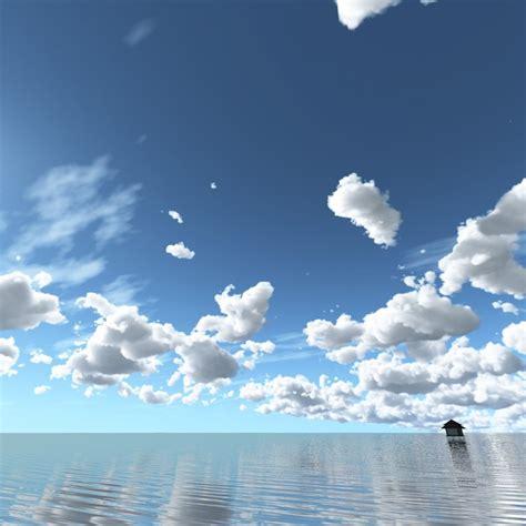 3d sky 3d model sky clouds
