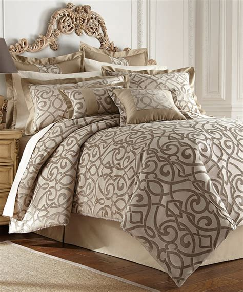 taupe bedding sets taupe danika eight piece comforter set modern comforters