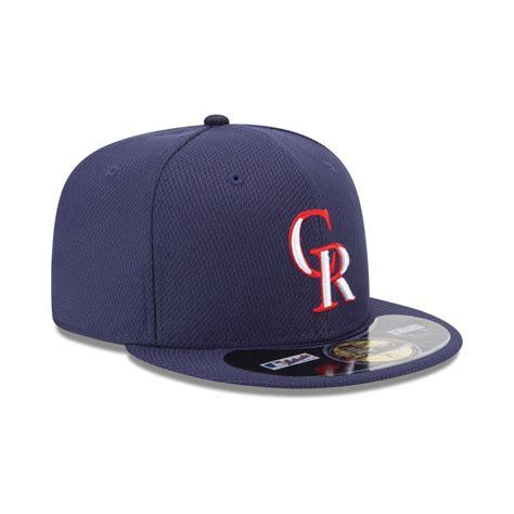 ktz colorado rockies home run derby 59fifty cap in blue