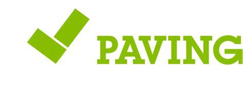 Paving Logo White Peak Paving Ltd Block Paving Driveway Services