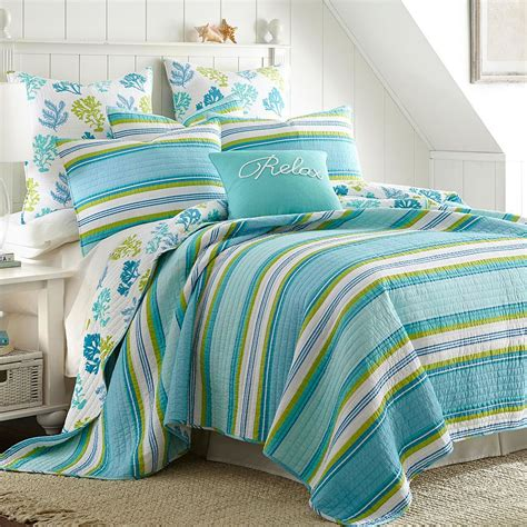 Reversible Quilt Cozumel Reversible Quilt Collection Everything Turquoise