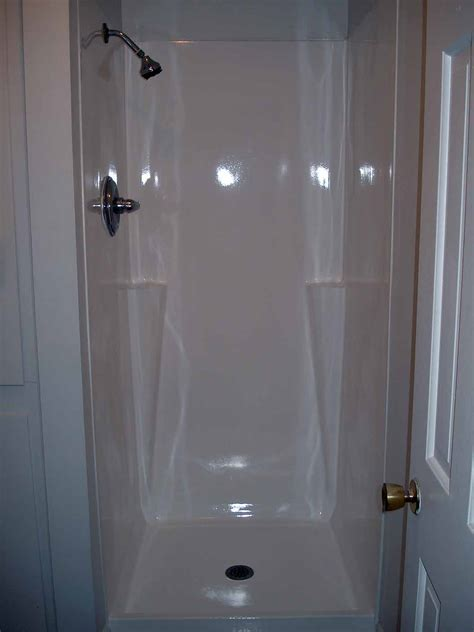 Shower Doors For Fiberglass Showers Fiberglass Showers Are Inexpensive And Low On Maintenance Bath Decors
