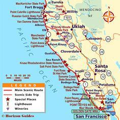 california highway 1 road trip map plan a california coast road trip with detours