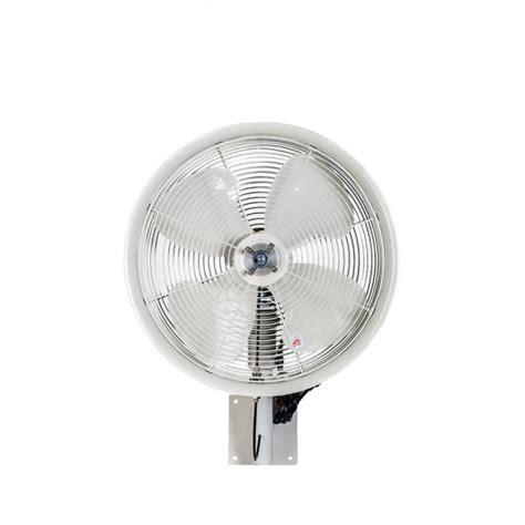 wall mount misting fan 18 quot oscillating wall mount misting fan white misting