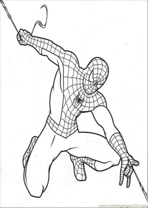 black spiderman coloring pages coloring home