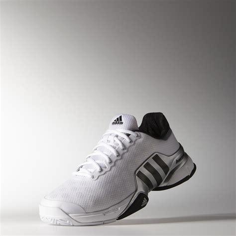 adidas mens barricade 2015 tennis shoes white black