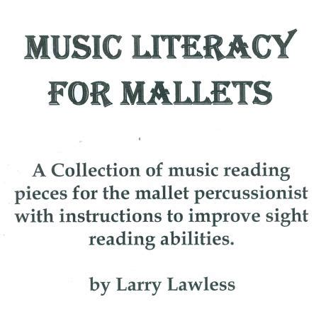 melodic stick books literacy for mallets by larry lawless melodic