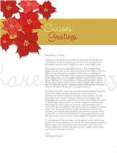holiday letter template 16 free word pdf psd format
