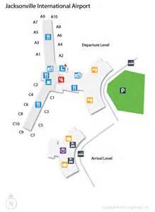 jax jacksonville international airport terminal map
