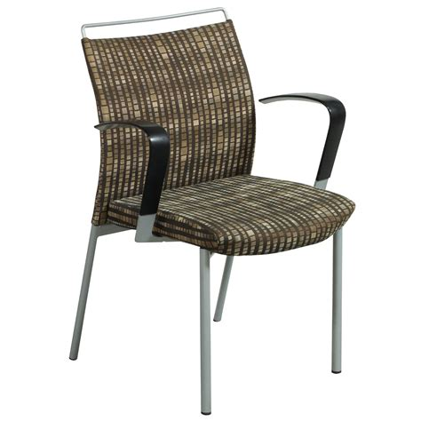 brown patterned chair krug dorso used stack chair brown pattern national