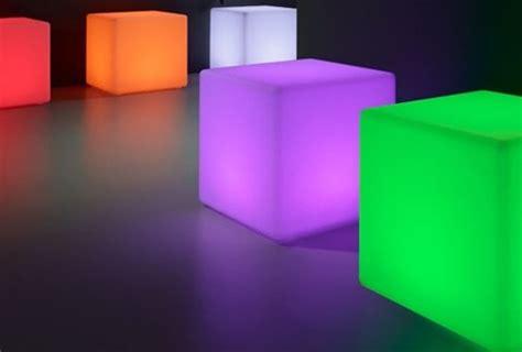 led cubes 30x30x30cm 18 15 incl btw rust part verhuur