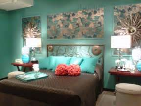 turquoise bedroom decorating ideas black and white