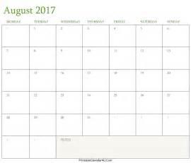 2104 calendar template best free august 2017 calendar printable template