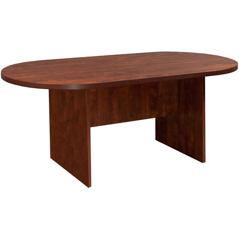 6 Foot Tables by Everyday 6 Foot Laminate Racetrack Conference Table