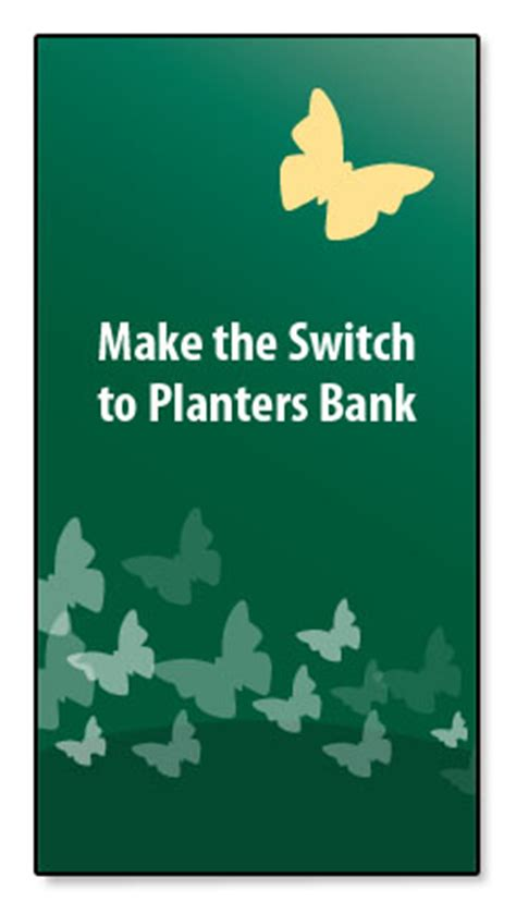 Planters Bank Credit Card by Planters Bank Personal Checking
