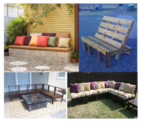 Cinder Block Outdoor Furniture by Outdoor Inspiration