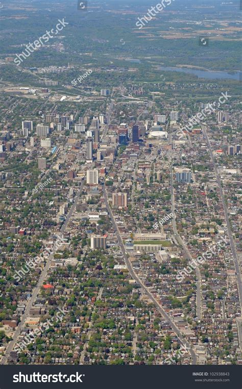 Address Lookup Hamilton Ontario Aerial View Downtown Of Hamilton Ontario Canada Stock Photo 102938843
