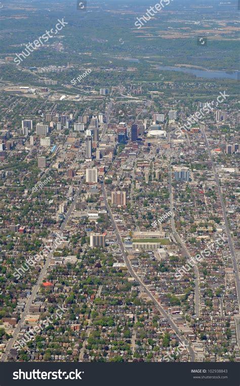 Address Lookup Hamilton Ontario Aerial View Downtown Of Hamilton Ontario Canada Stock Photo 102938843