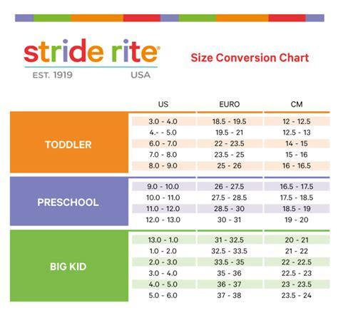 toddler shoe size chart printable stride rite stride rite baby shoe size chart optimal koala baby