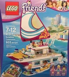 lego friends sunshine catamaran review pictures lego 41317