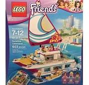 LEGO Friends Sunshine Catamaran Set Review Pictures