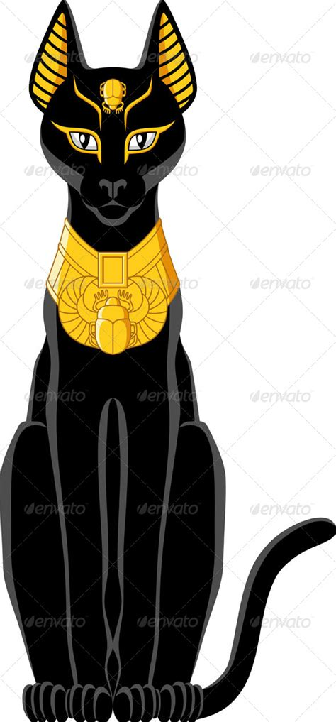 egyptian cat animals characters ancient egypt