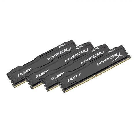 Sd Card V 32gb Hyper Series kingston hyperx fury black series desktop memory 32gb 4x8gb kit ddr4 dimm 288 pin 2400