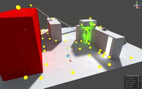 unity tutorial light probe unity manual usando sondas de luz light probes