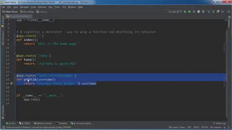 tutorial python web development flask web development with python tutorial 2 routing