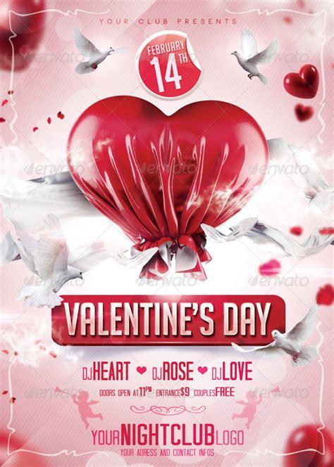 valentines day flyer valentines day flyer by qbmix graphicriver