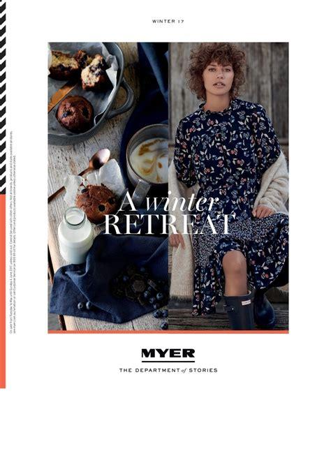 myer winter clothing catalogue may 2017