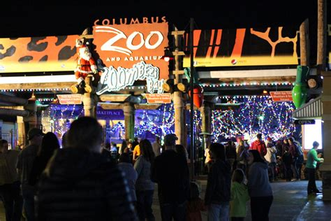 Wildlights At The Columbus Zoo Sharing Horizons Zoo Lights Admission