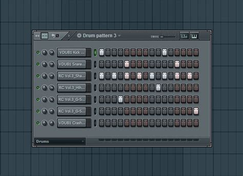 drum pattern creator bass idea for drum and bass
