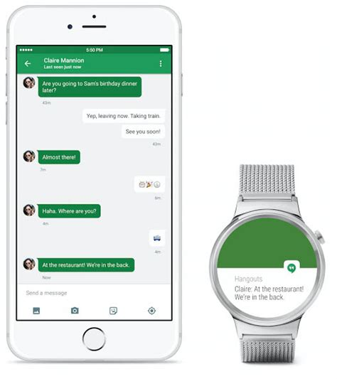 android rumors android wear now compatible with iphone ios app launches today mac rumors