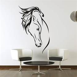 Transfer Stickers For Walls Horses Head Wall Art Stickers Wall Decal Transfers Ebay