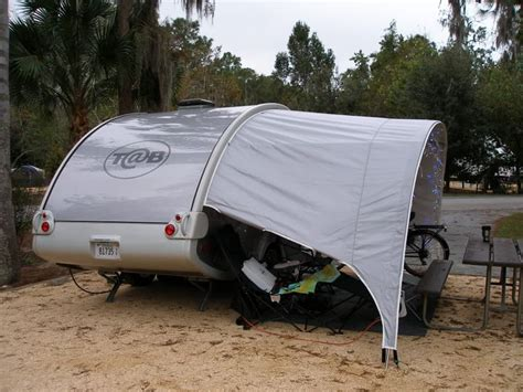 teardrop caravan awning teardrop with awning by elementcer t b love