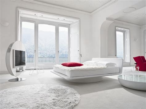 modern white bedroom ideas luxury beds from bonaldo