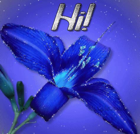 Hi Flower by Hi Animated Gif Namegif